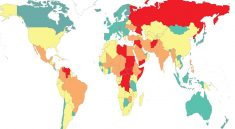 USA ranked 122nd most peaceful country after «significant deterioration in peacefulness»
